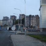 Санкт-Петербург, участок ж/д Балтийский вокзал - М