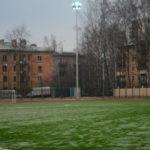 Футбольное поле на территории ВОЕННОЙ АКАДЕМИИ СВЯЗИ им. С.М.Буденного