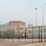 Многофункциональные спортивные площадки АКАДЕМИИ СВЯЗИ им. С. М. Буденого