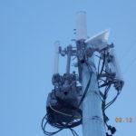 Мачта сотовой связи для нужд ТЕЛЕ 2 установлена в г. Архангельск